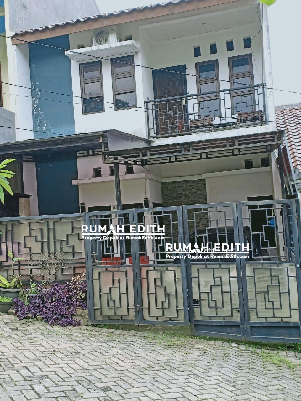 Rumah second di Beji Depok dalam cluster 1,4 M