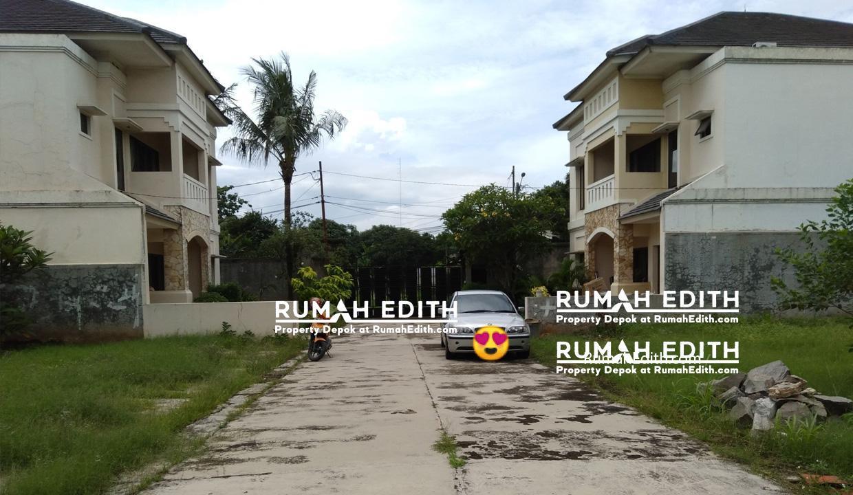 Dijual Tanah kavling di Limo Depok. pinggir jalan 374 m2, 2,2 M