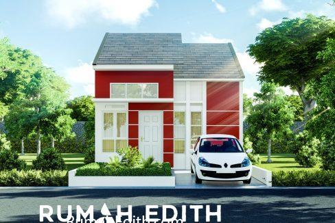 rumah edith Cluster di Jln Sukahati Cibinong Bogor, Harga 420 Jt'an 10