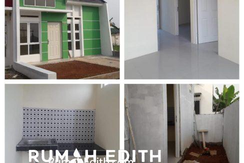 rumah edith Cluster di Jln Sukahati Cibinong Bogor, Harga 420 Jt'an 7