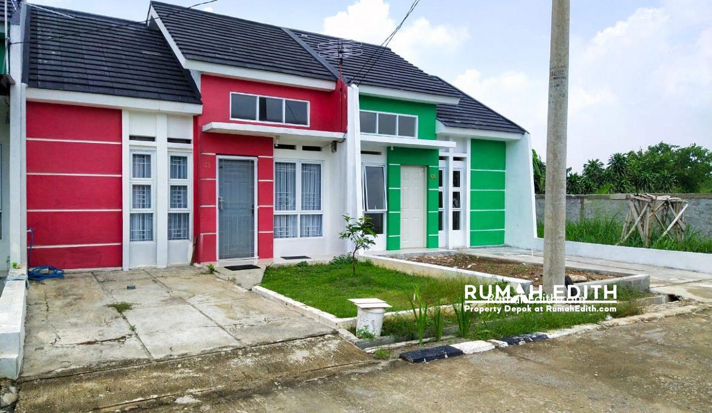 rumah edith Cluster di Jln Sukahati Cibinong Bogor, Harga 420 Jt'an 8