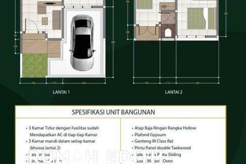 rumah-edith-Dijual-Cluster-Exclusive-Di-Margonda-Depok-Murah-Dan-Bebas-Banjir-1