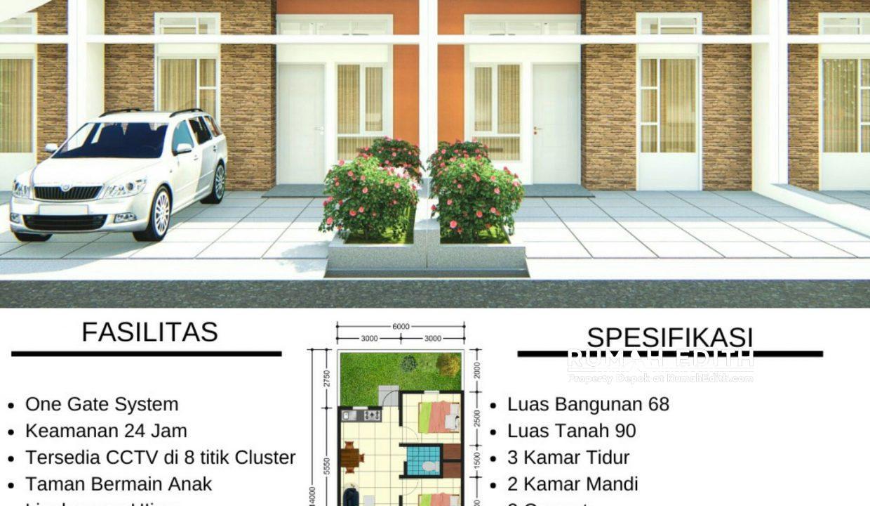 rumah edith Dijual Rumah di Jatimulya, Cilodong Depok (15)