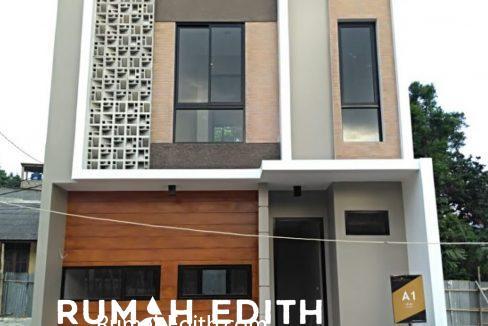 rumah edith TownHouse, 800 Juta di Cimanggis Depok 1