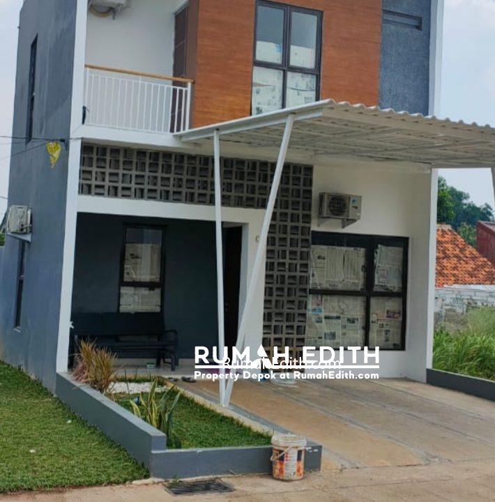 Townhouse ekslusif dan strategis di Ciputat Tangerang Selatan, 990 juta rumah edith 2