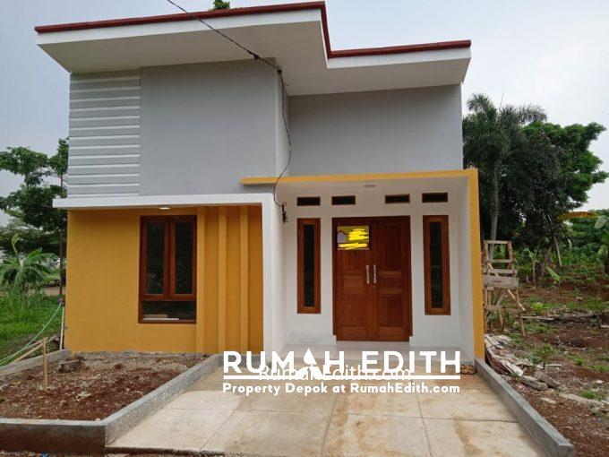 rumah edith - Dijual Rumah minimalis dalam cluster di Curug Bojongsari Depok 415 juta