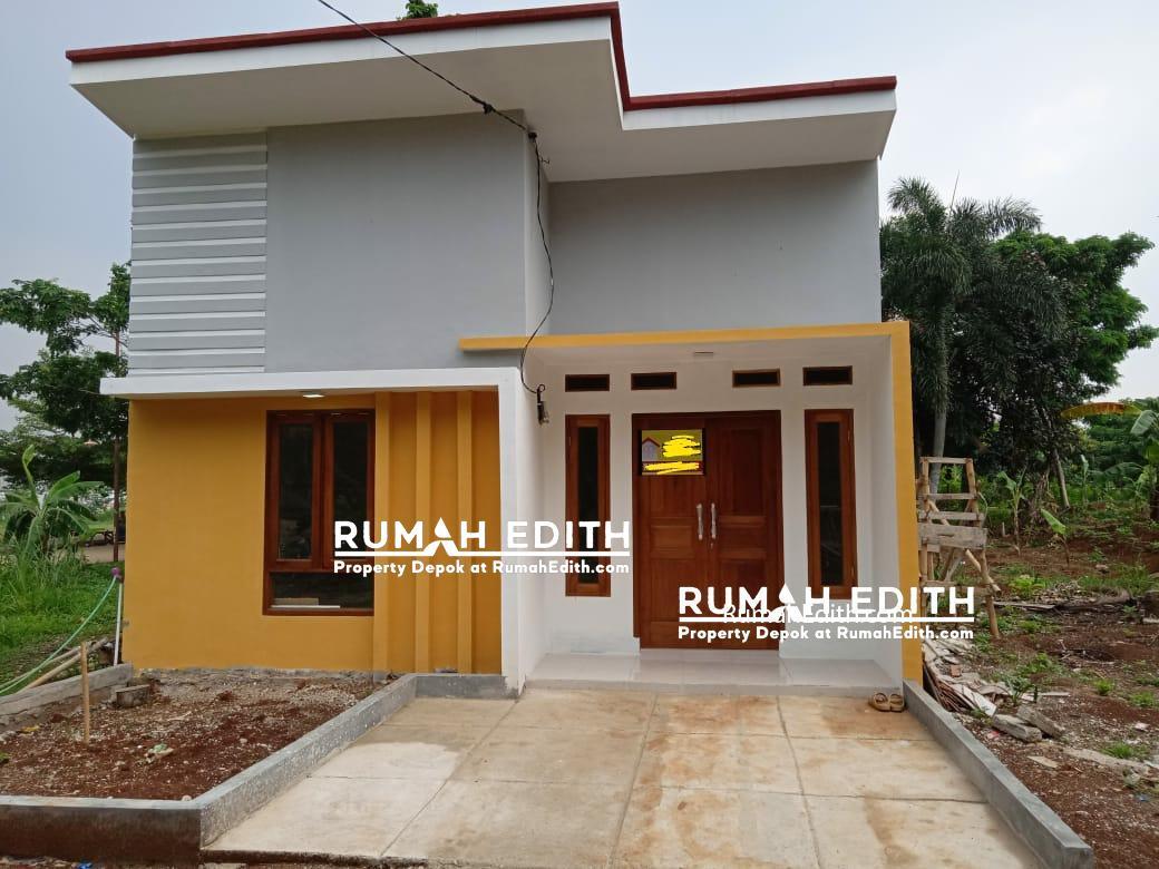 Dijual Rumah minimalis dalam cluster di Curug Bojongsari Depok 415 juta