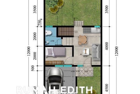 rumah edith - Dijual perumahan Modern 15 menit tol BSD Dilengkapi Smart3
