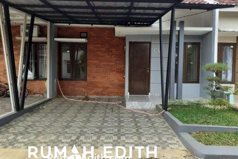 rumah edith - Rumah second dalam cluster 550 jt di Bedahan Depok