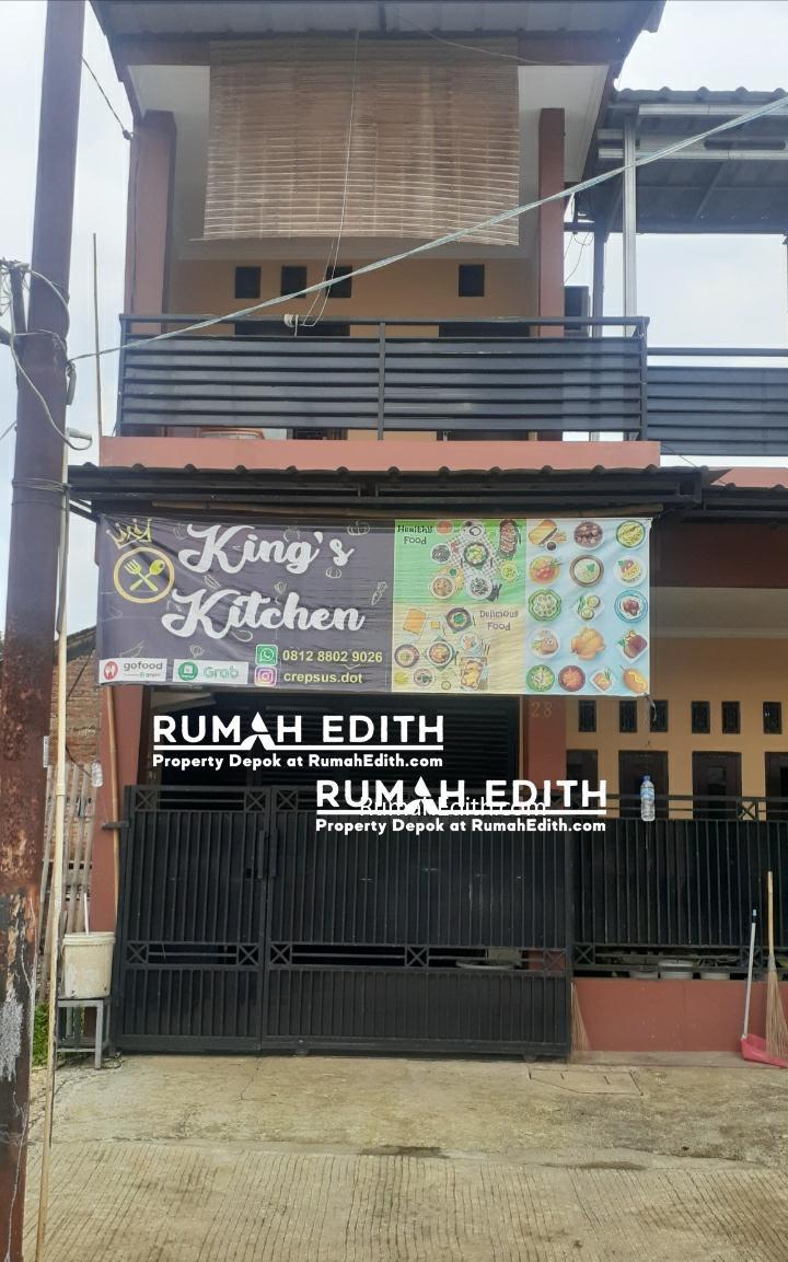 Rumah second siap huni 1,5 lantai di Cipayung Depok 750 juta