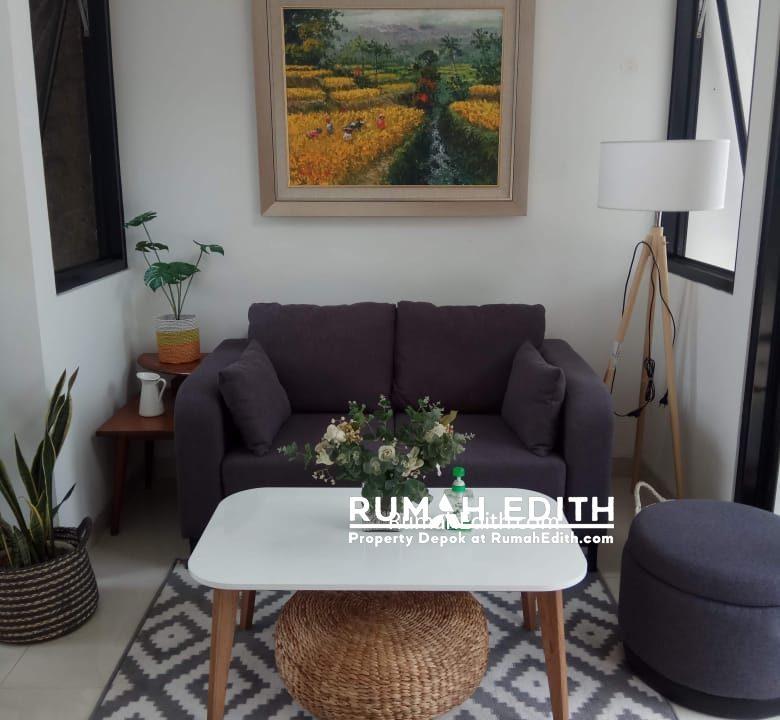 rumah edith - Town House Eksklusif 66 Unit Dengan Gaya Urban Tropical Modern Di Selatan Jakarta 8