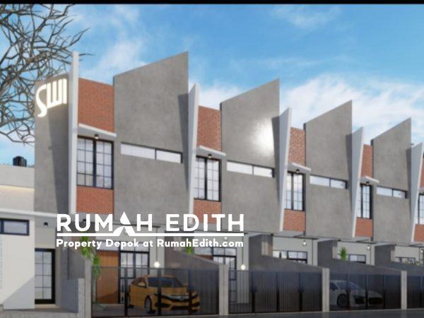 Rumah Baru Rp 553 Juta, 2 Lnt, di Beji, Depok. LT 40 m², 2 KT, 2 KM.