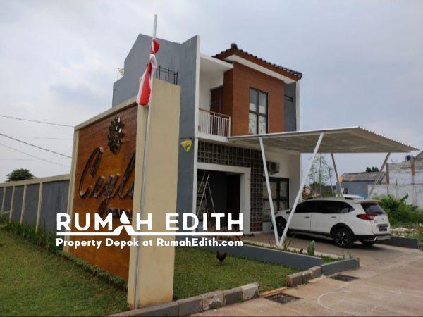 Rumah Baru Rp 990 Juta, 2 Lnt, di Ciputat, TangSel. LT 91 m², 3 KT, 2 KM.