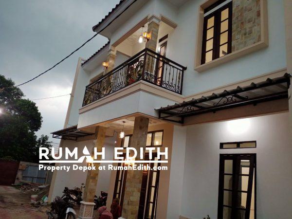 Rumah Baru Rp 975 Juta, 2 Lnt, di Beji, Depok. LT 70 m², 3 KT, 3 KM.
